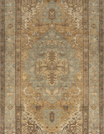 Antique Persian Heriz Carpet BB3427