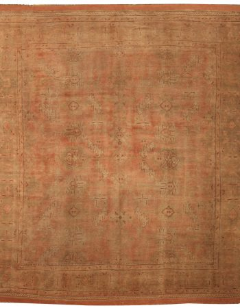 Antique Oushak Rug BB5198