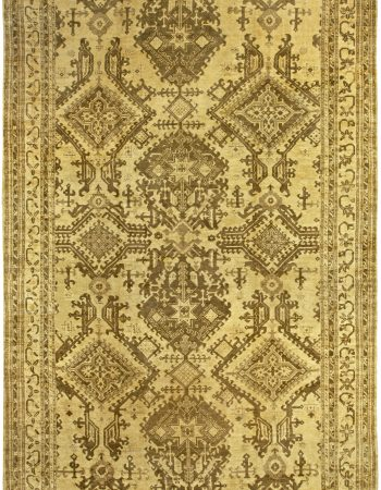Antique Turkish Oushak (size adjusted) BB5222