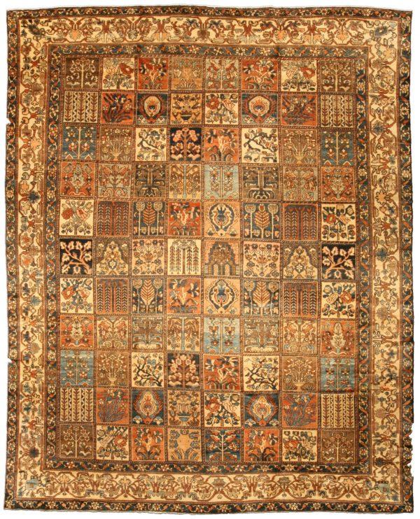 Antique Persian Bakhtiari Rug BB3320