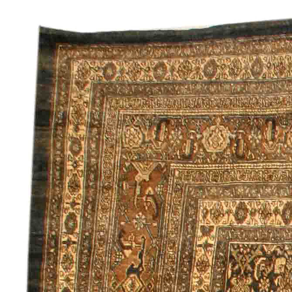Antique Persian Bibikabad Rug BB3859