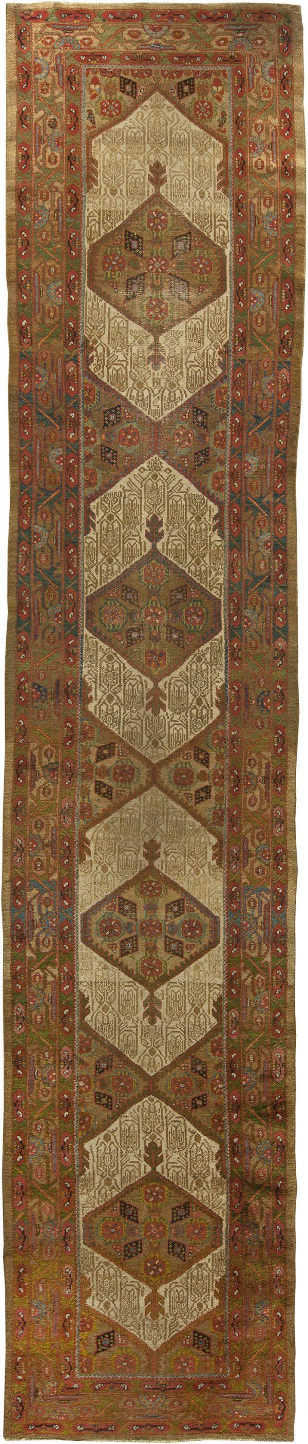 Antique Persian Hamadan Carpet BB3768