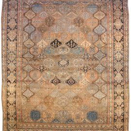 Antique Persian Kashan Rug BB3801