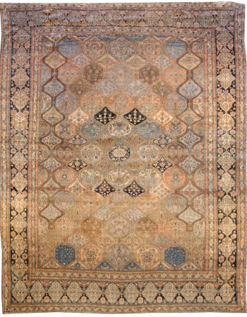 Antique Persian Kashan Rug BB3801
