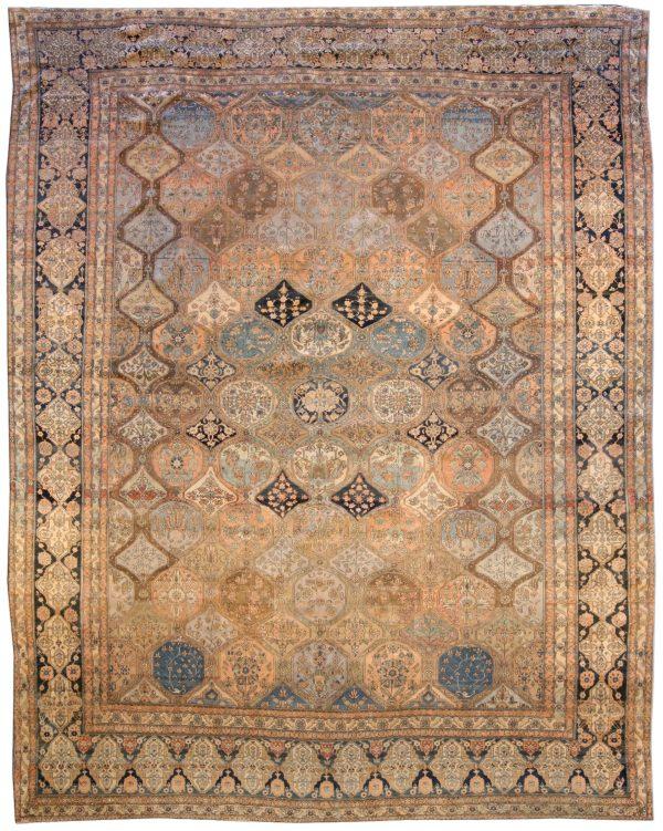 Antike Perser Kashan Teppich BB3801