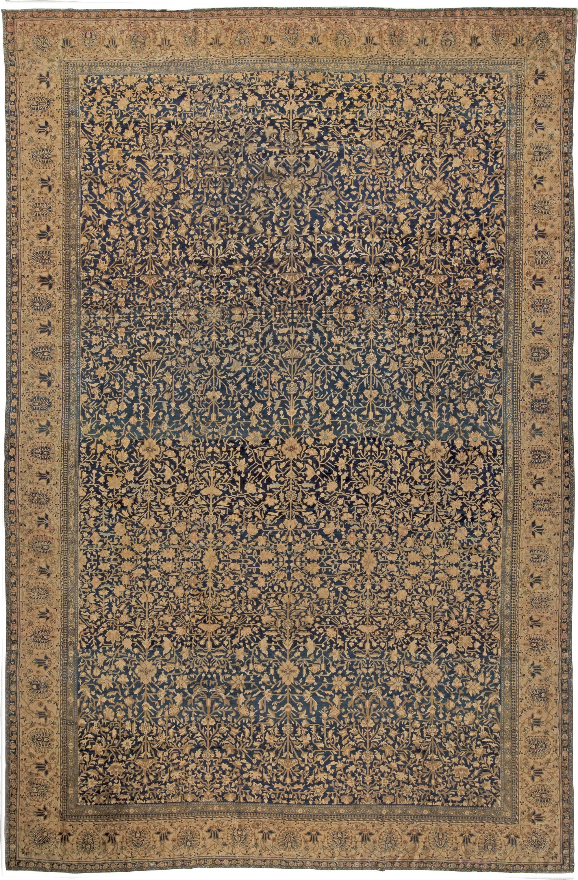 Vintage Persian Kashan Rug Bb4304 By Doris Leslie Blau