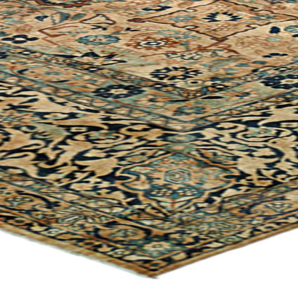 Antique Persian Kirman Carpet BB0071