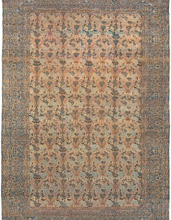 Vintage Persian Kirman Rug BB0122