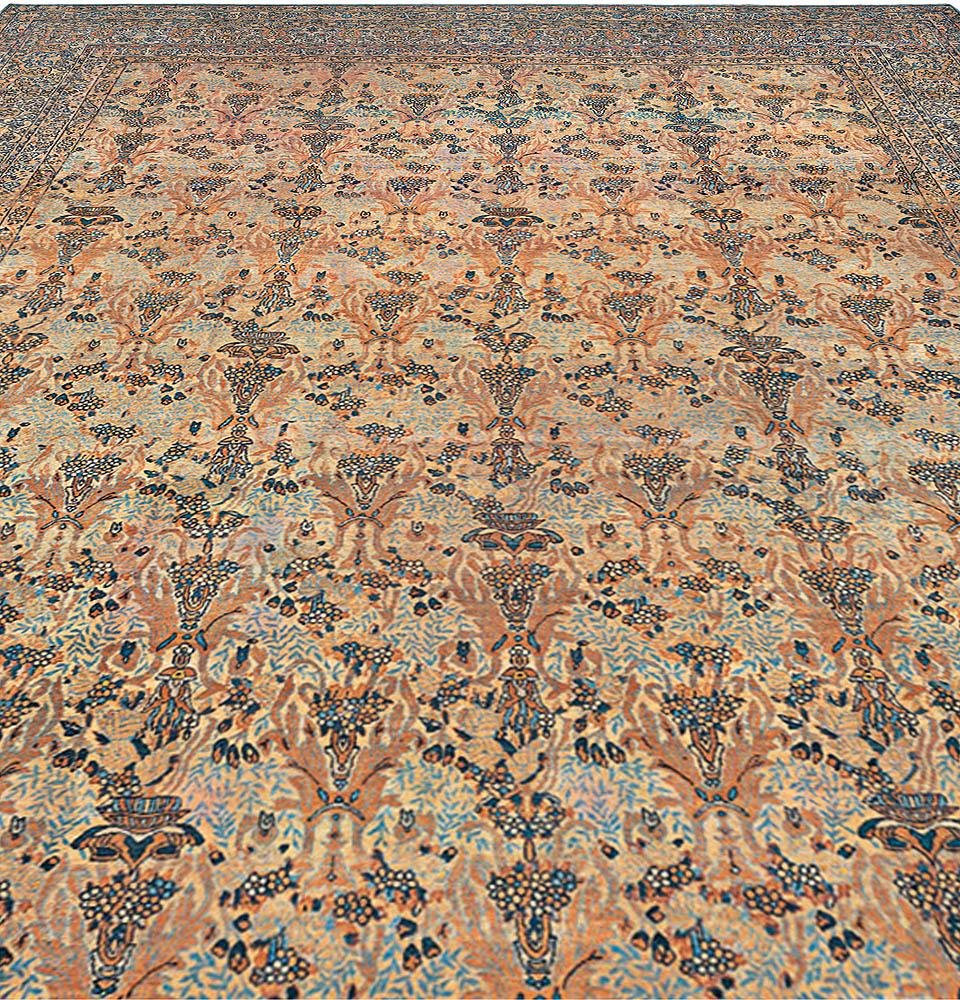 Vintage Persian Kirman Rug BB0122