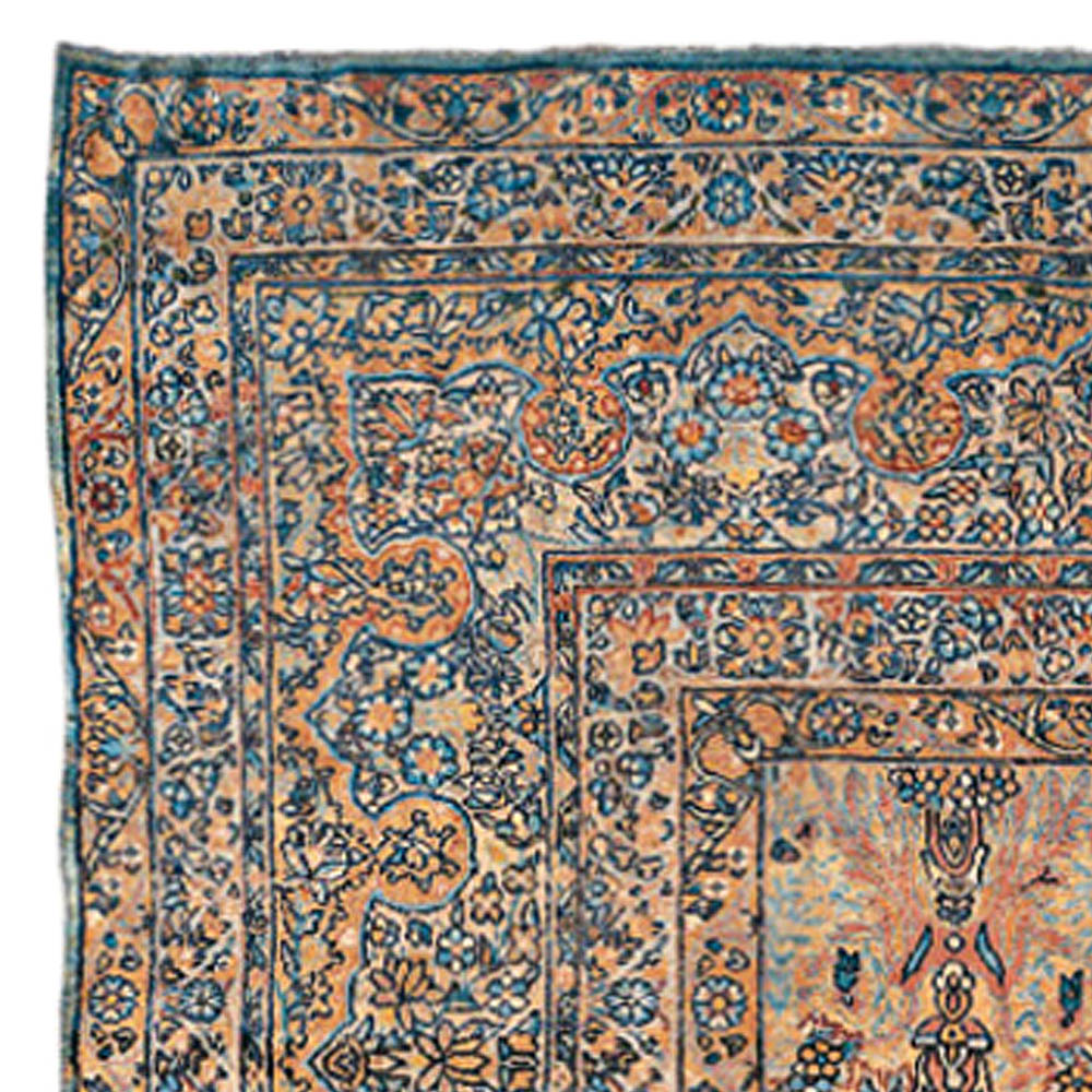 Vintage Persian Rugs: Vintage Persian Kirman Rug BB0122 By Doris Leslie Blau