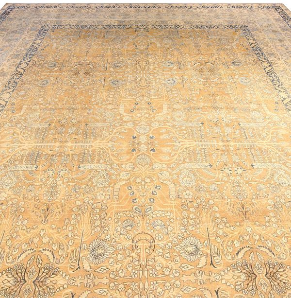 Vintage Persian Kirman Carpet BB3879