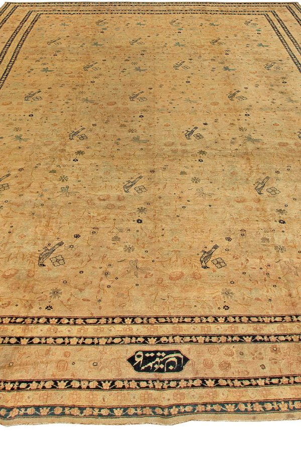 Antique Persian Kirman Rug (size adjusted) BB5922
