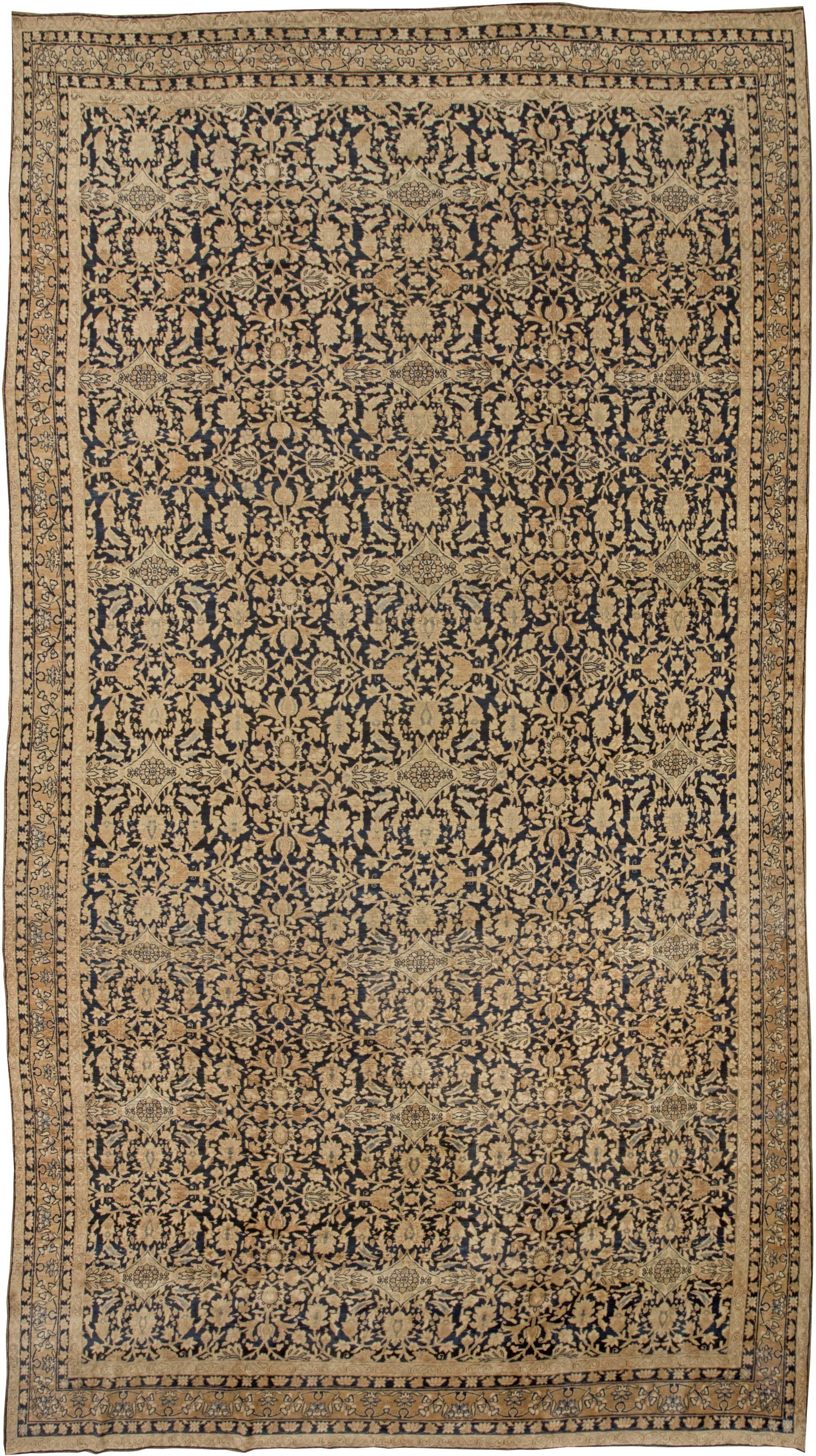 Vintage Persian Kirman Carpet BB2445