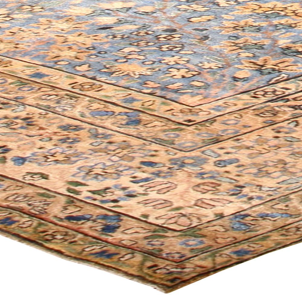 Blue Vintage Persian Kirman Carpet BB2242