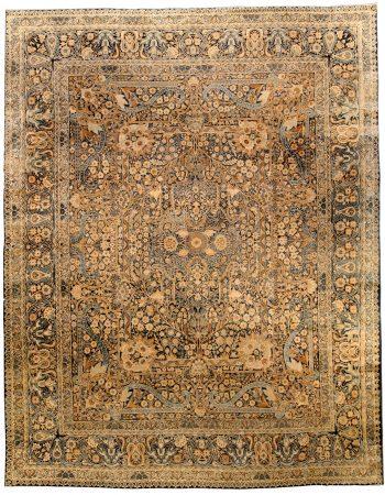 Large Vintage Persian Kirman Rug BB4313