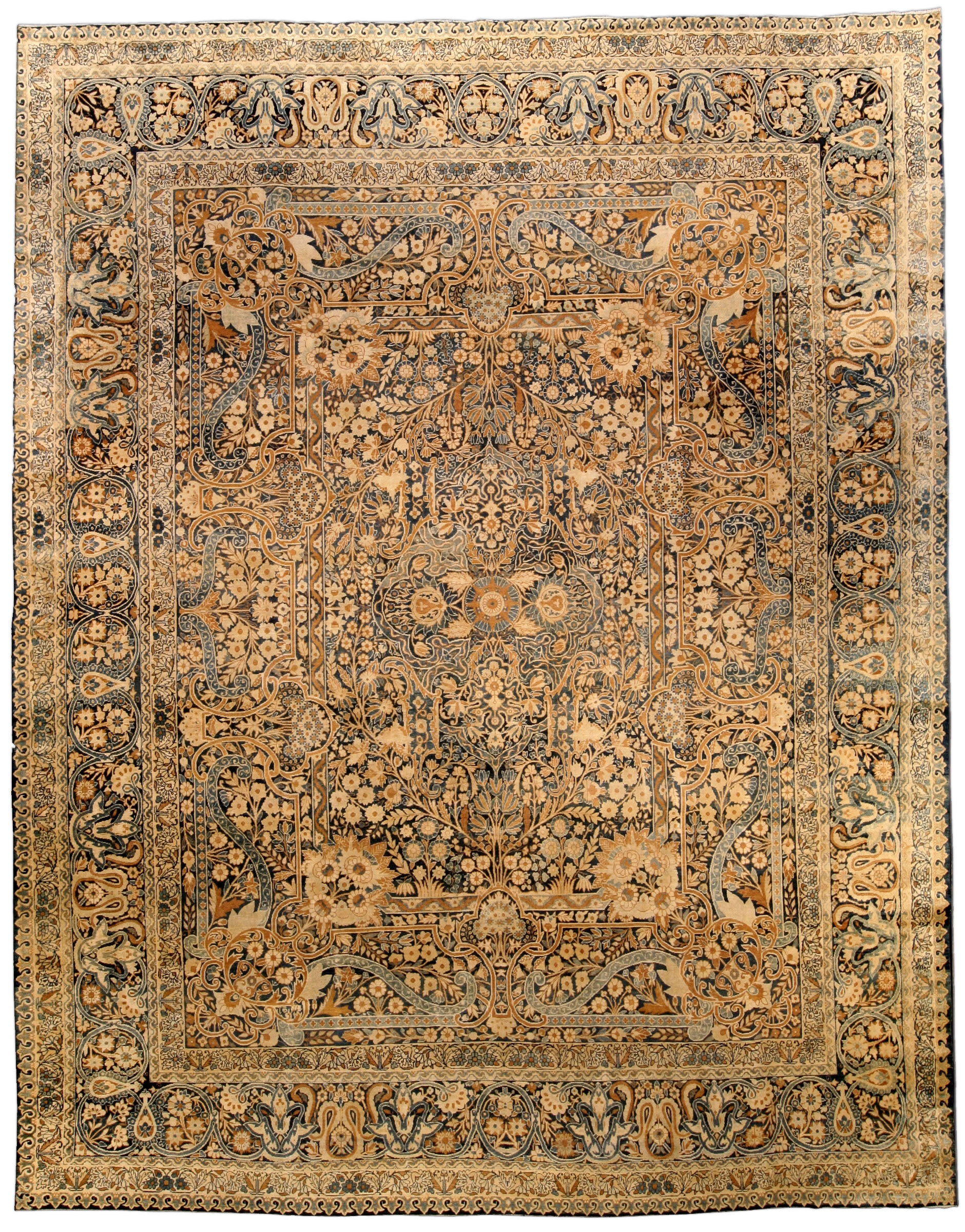 Antique Persian Kirman Rug BB4220