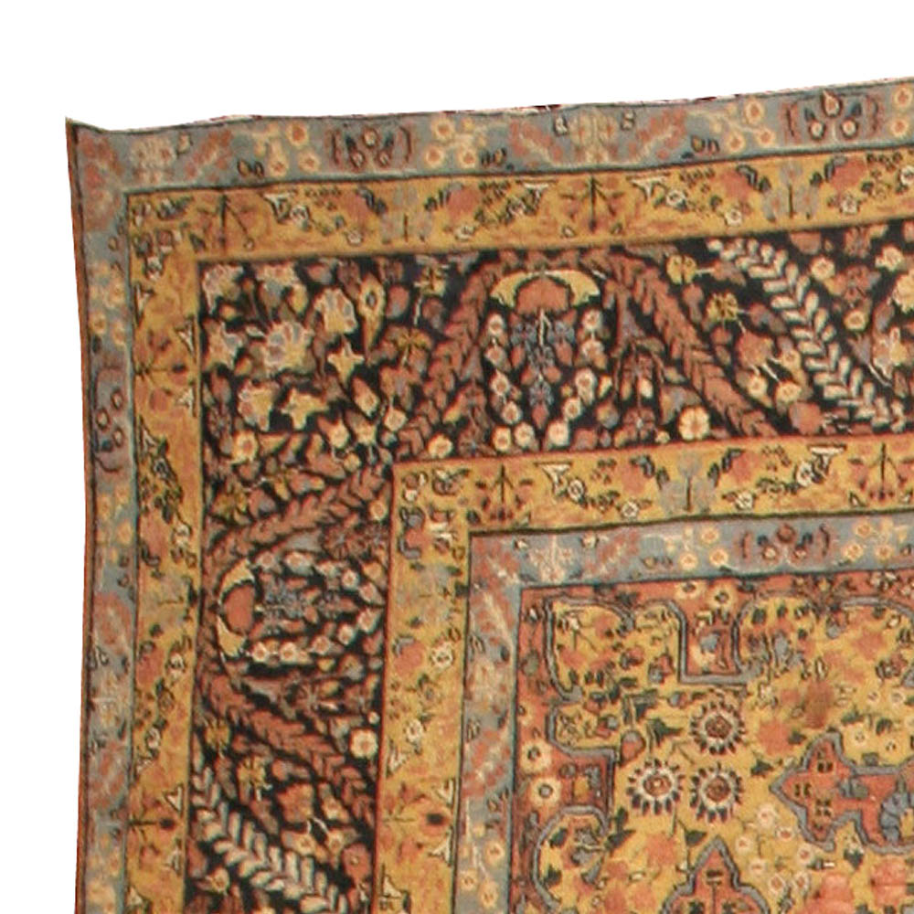 Antique Persian Kirman Rug BB4419