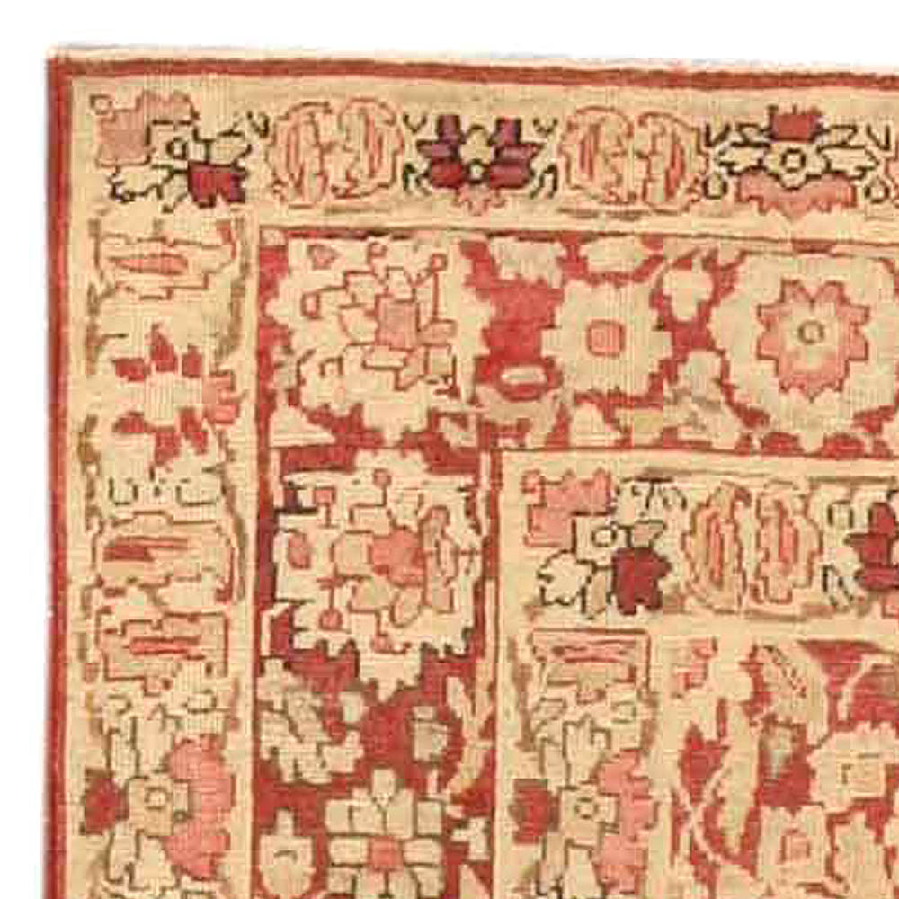 Antique Persian Kirman Rug BB4154