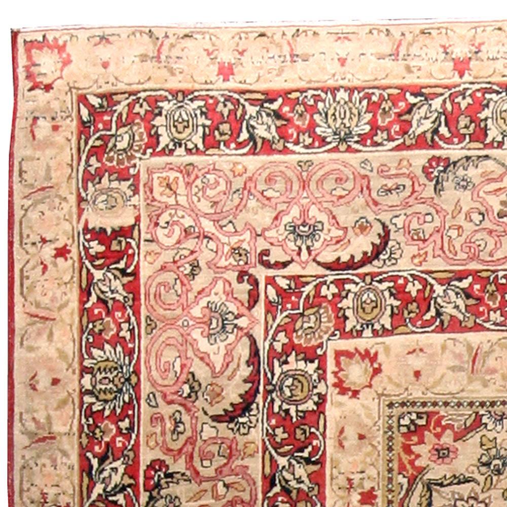 Antique Persian Kirman Carpet BB4575
