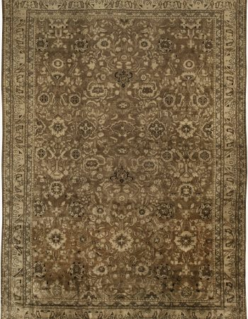 Antique Persian Malayer Tapete BB6393