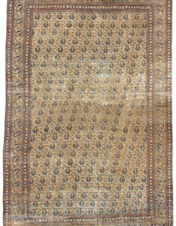 Übergroße Antike Perser Meshad Teppich BB3306