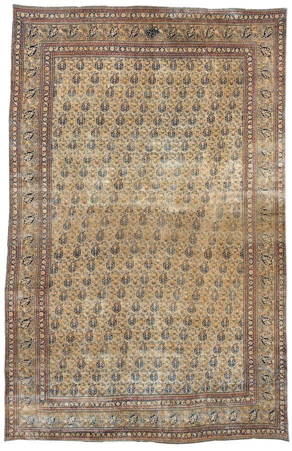 Oversized Antique Persian Meshad Rug BB3306