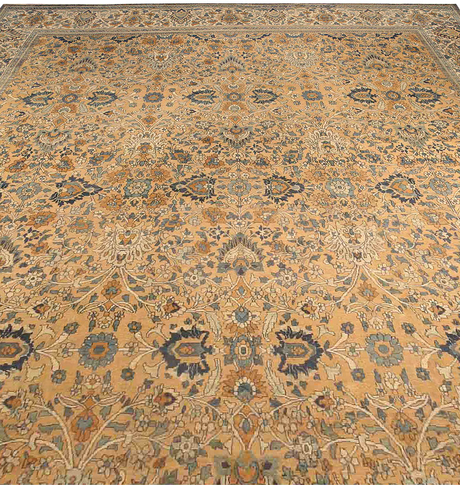 Antique Persian Meshad Rug BB3547