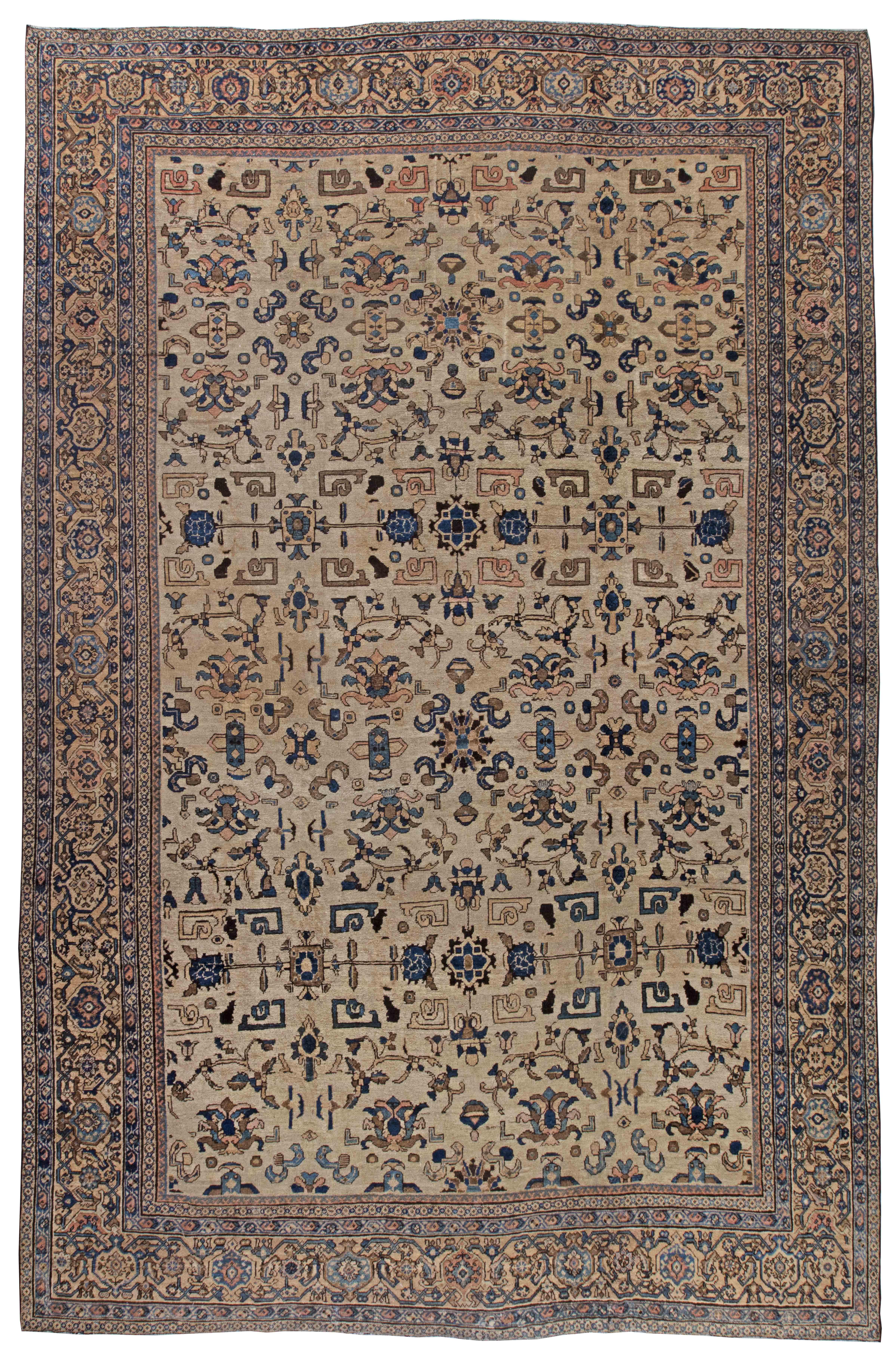 Vintage Persian Sultanabad Rug BB3566