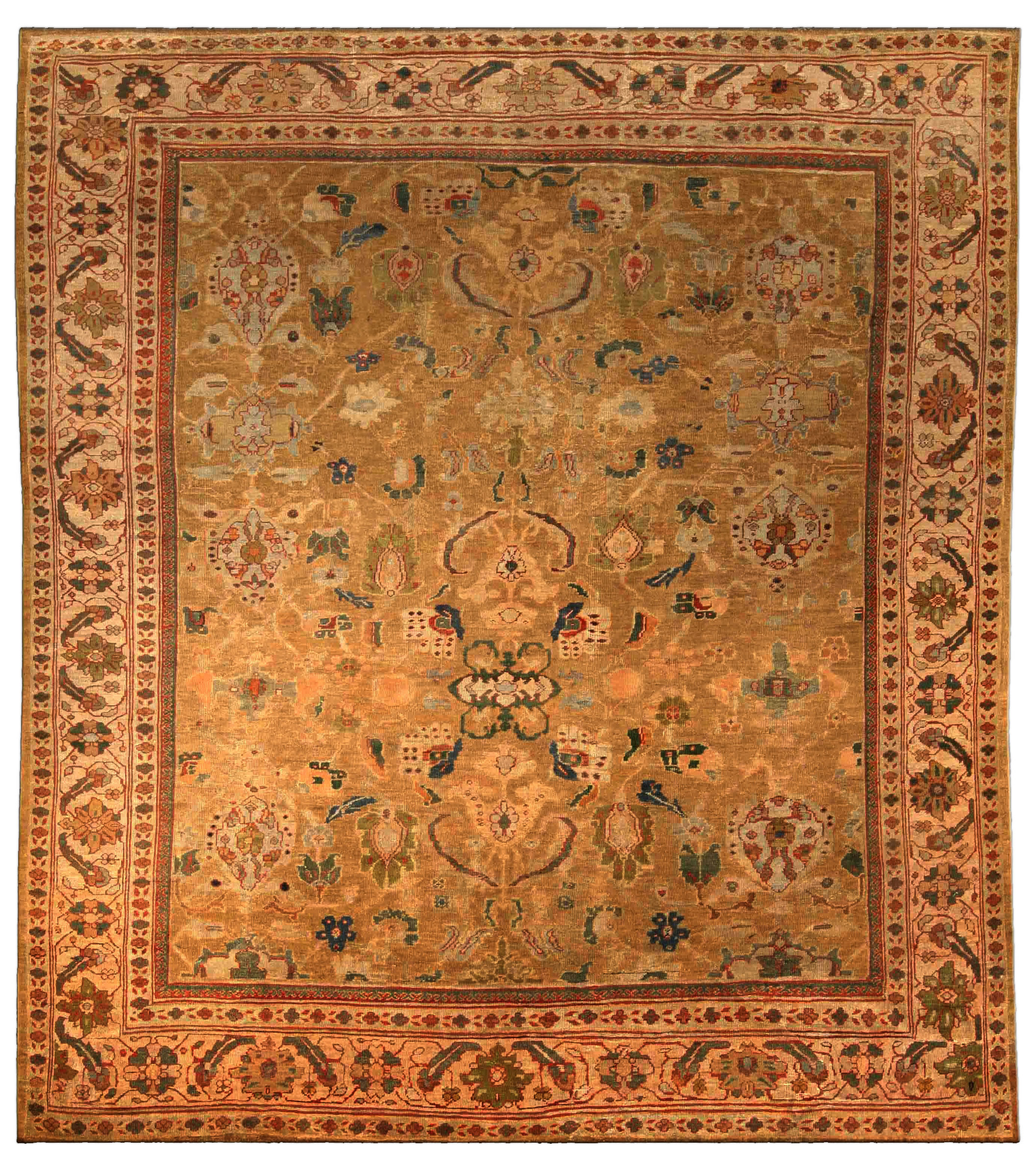 Antique Persian Sultanabad Rug BB4057 By Doris Leslie Blau