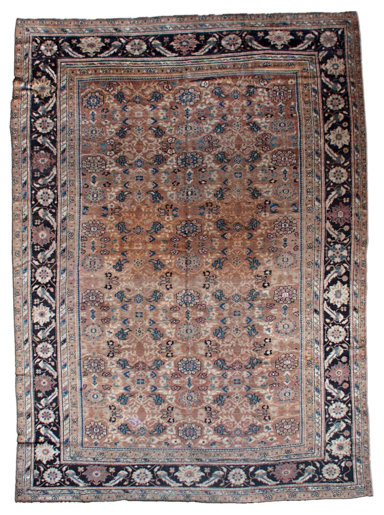Vintage Persian Sultanabad Rug BB0849