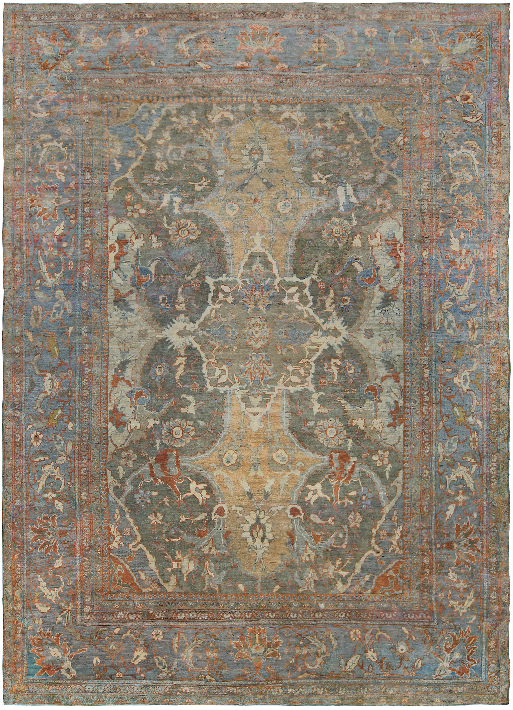 Antique Persian Sultanabad Bb5287 Antiques