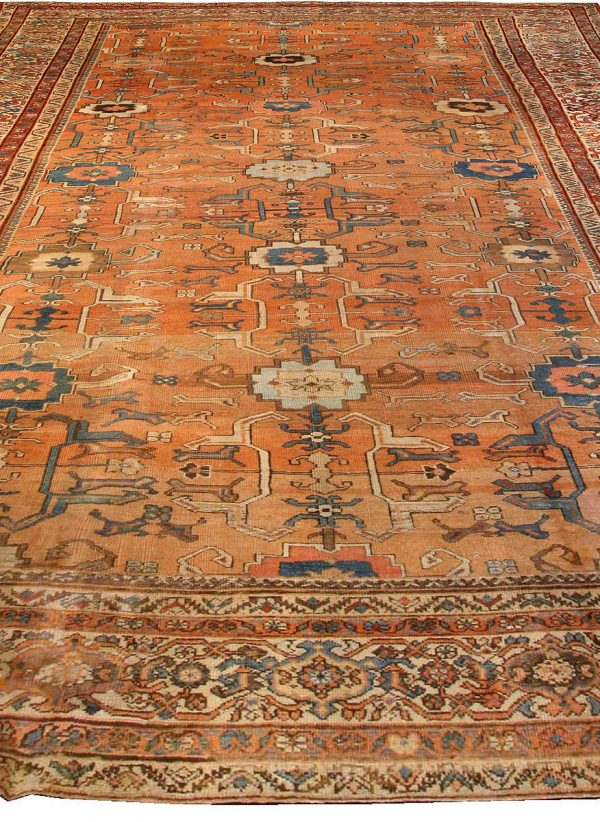 Antique Persian Sultanabad Rug BB0537