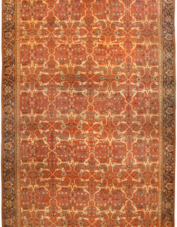 Antique Persian Sultanabad Carpet BB0037