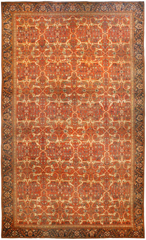 Antique Persian Sultanabad Teppich BB0037