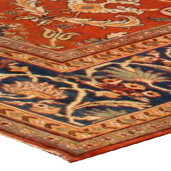 Antique Persian Sultanabad Rug BB1354
