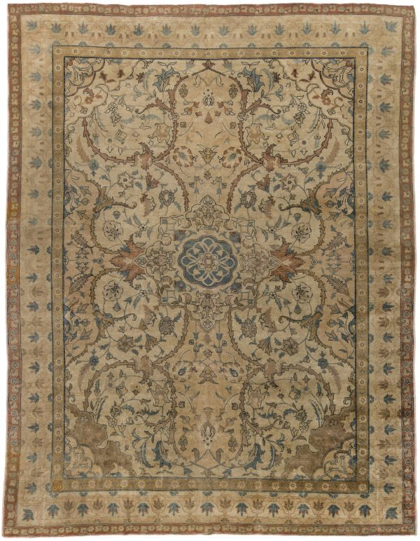 Antique Persian Tabriz Rug BB6277