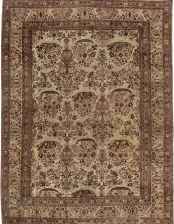 Antique Persian Tabriz BB6327