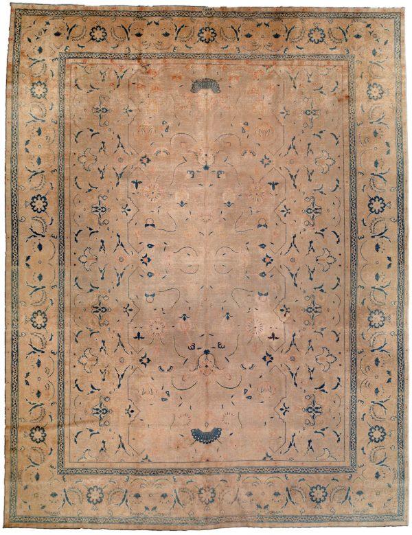 Vintage Persian Tabriz Rug BB0678