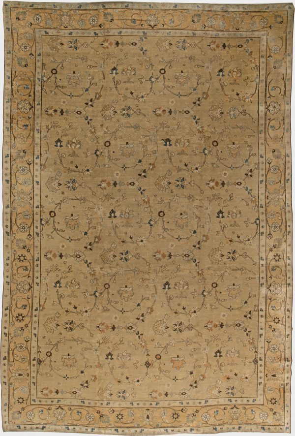 Antique Persian Tabriz Carpet BB2554