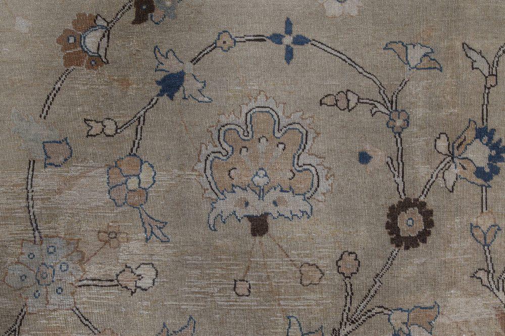 Antique Persian Tabriz Carpet BB2554