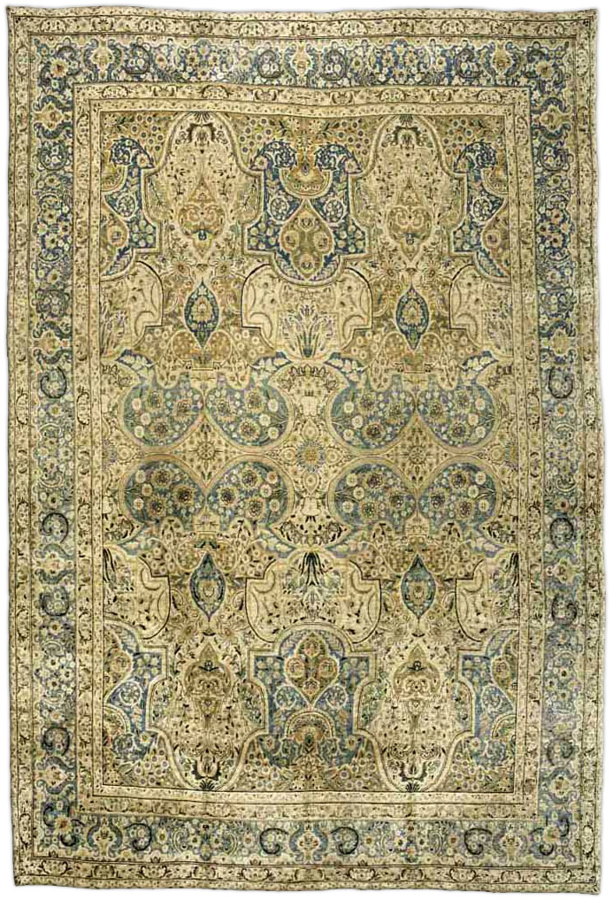 Antique Persian Tabriz Rug BB2577