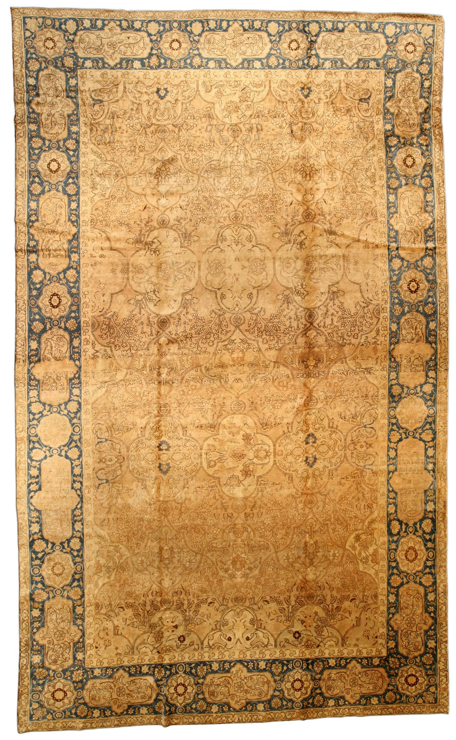 Persian Tabriz Rug BB2658