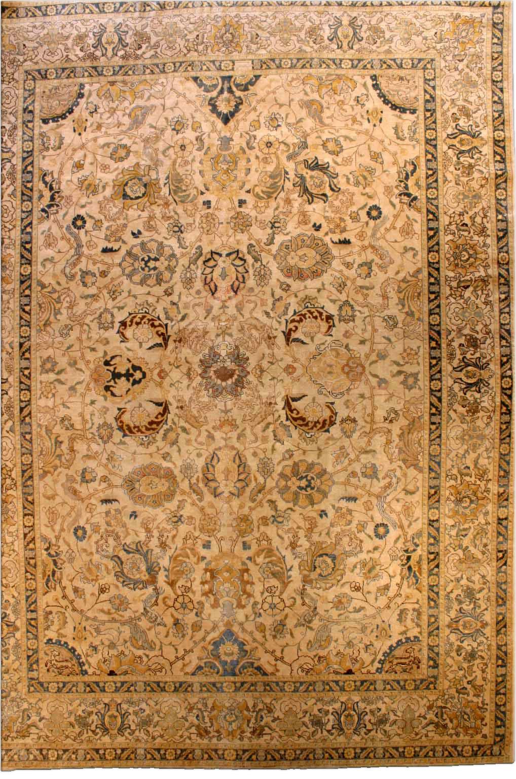 Persian Tabriz Rug BB2870