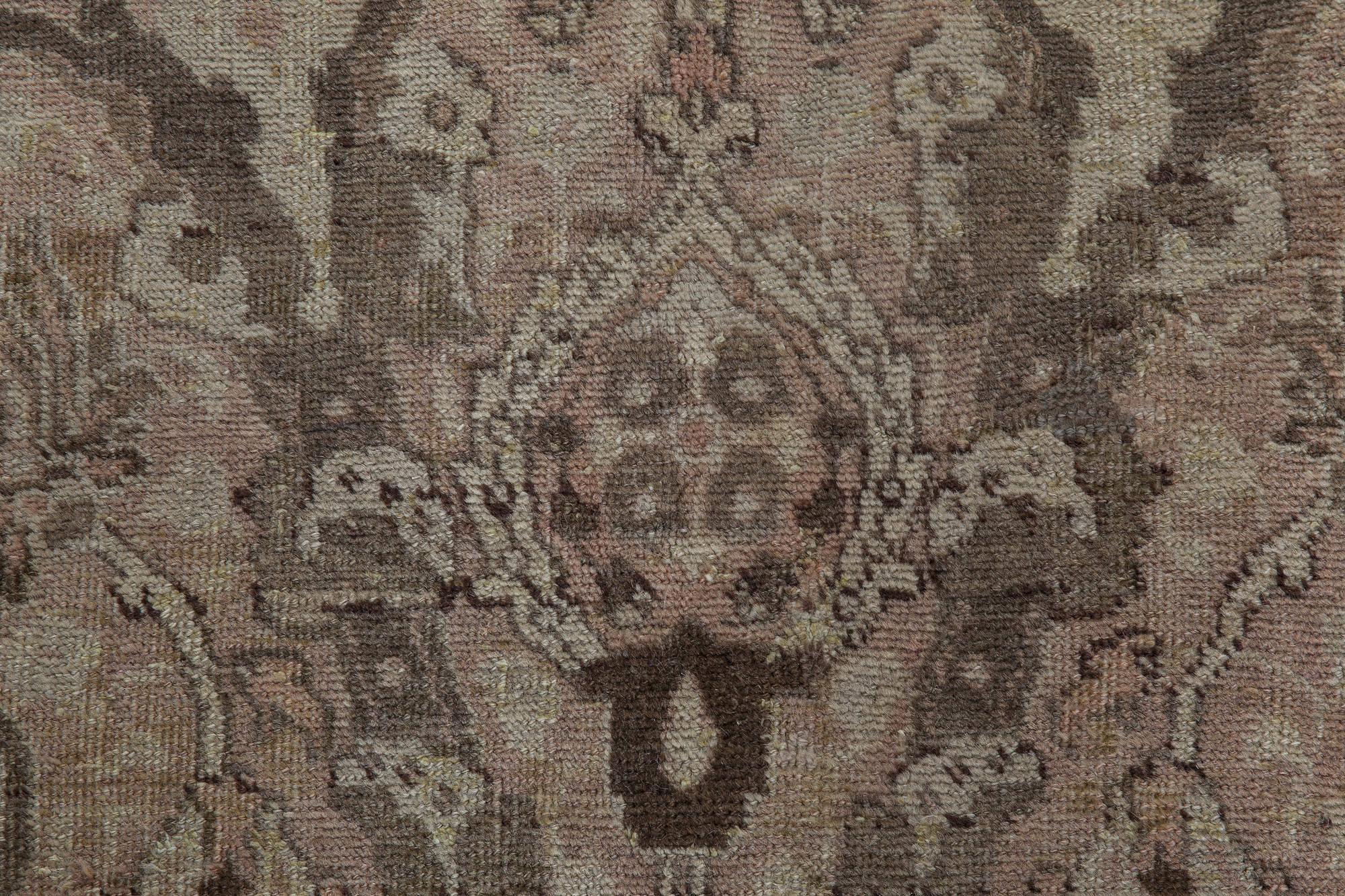 Antique Persian Tabriz Carpet Bb3935 By Doris Leslie Blau