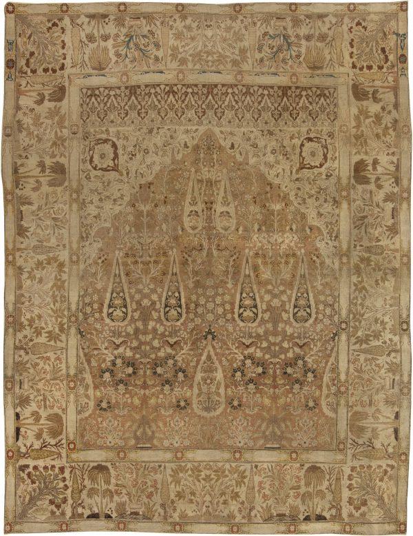 Antique Persian Tabriz Carpet BB4134