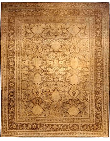 Antique Persian Tabriz Carpet BB0324