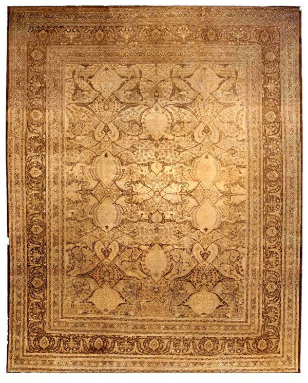 Antike persische Tabriz Teppich BB0324