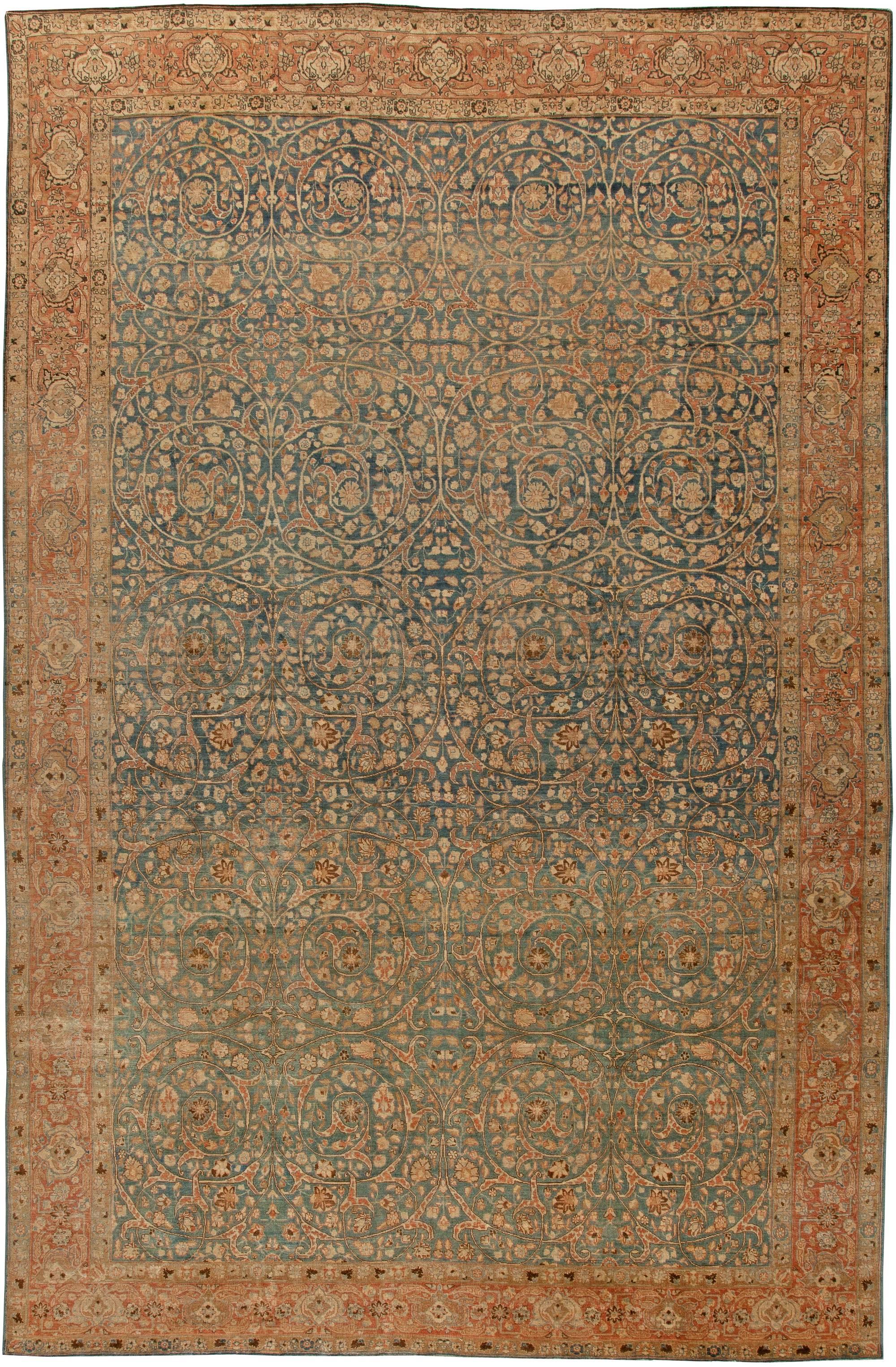 Antique Persian Tabriz Carpet BB5737