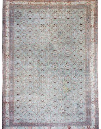 Antique Persian Tabriz Silk Rug BB6781