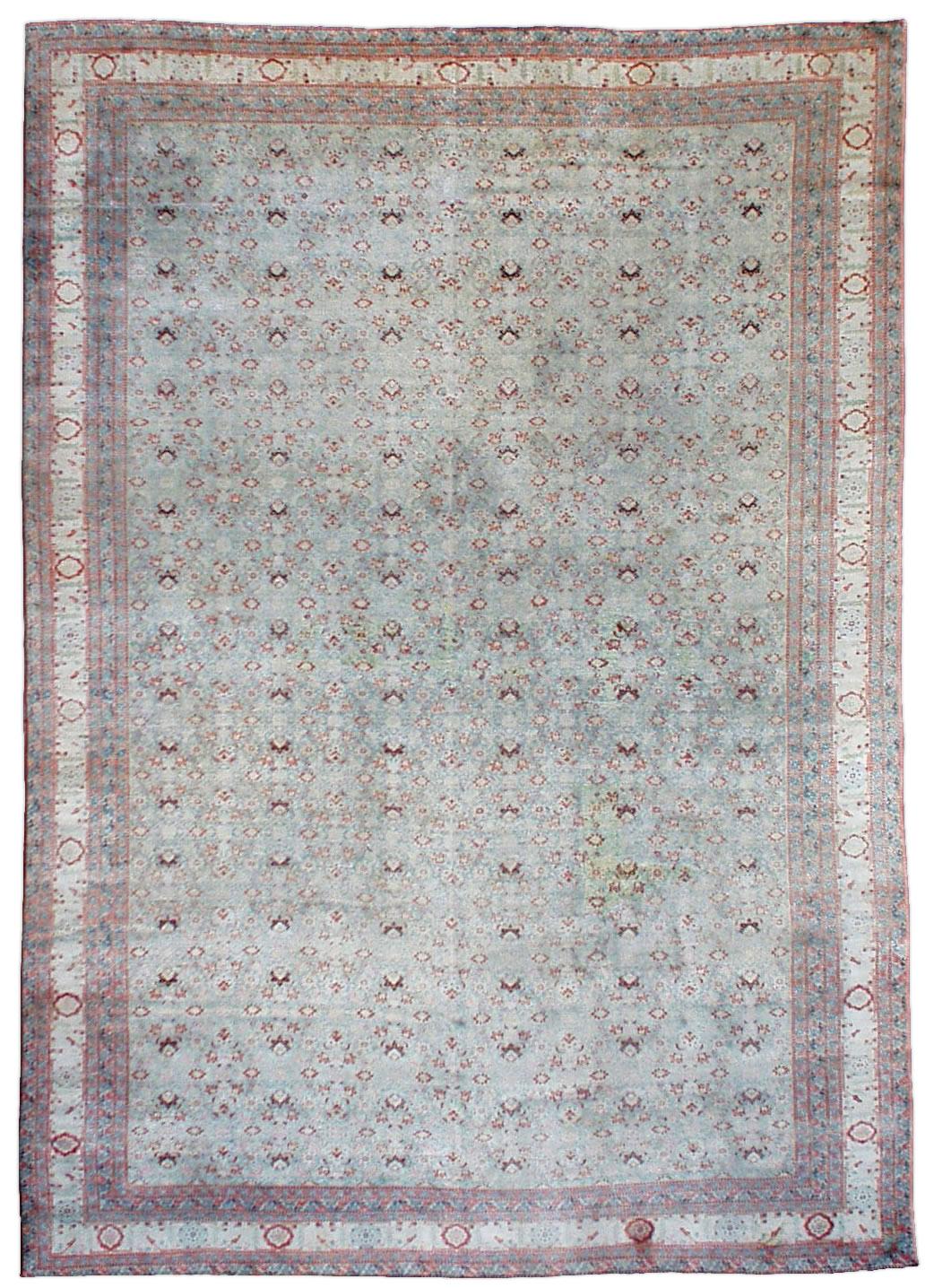 Vintage Persian Tabriz Rug BB0993
